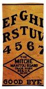 Ouija Board 1 Beach Towel
