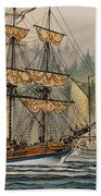 Our Seafaring Heritage Beach Towel by James Williamson