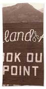 Ouray Colorado Beach Towel