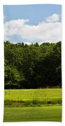 Out In The Country Beach Towel