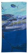 Out Of The Blue Off009 Beach Towel by Carey Chen