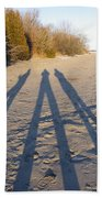 Out Of The Shadows Beach Towel