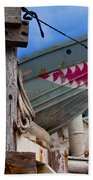 Out Of The Water - There's A Shark Beach Towel
