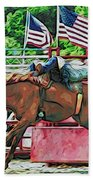 Out The Gate Beach Towel