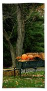 Outdoor Fall Halloween Decorations Beach Towel
