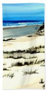 Outer Banks Sand Dunes Beach Ocean Beach Towel