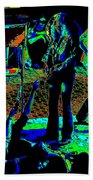 Outlaws #16 Art Psychedelic Beach Towel