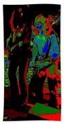Outlaws #18 Art Psychedelic Beach Towel