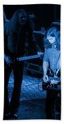 Outlaws #20 Crop 3 Blue Beach Towel