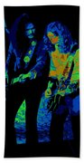 Outlaws #25 Crop 2 Art Psychedelic Beach Towel