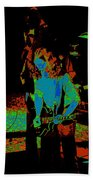 Outlaws #27 Art Psychedelic Beach Towel