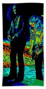 Outlaws #31 Crop 2 Art Psychedelic Beach Towel