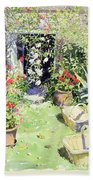 Outside Looking In, 1991 Wc On Paper Beach Towel