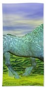 Over Oz's Rainbow Beach Towel by Betsy Knapp