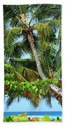 Over The Hedges Beach Towel