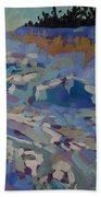 Over The Hill Beach Towel