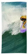 Over The Top Beach Towel by Laura Fasulo