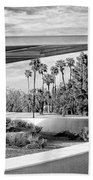 Overhang Bw Palm Springs Beach Towel