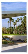 Overhang Palm Springs Tram Station Beach Towel