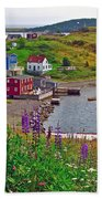 Overlooking Trinity-nl Beach Towel