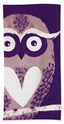 Owl 1 Beach Towel