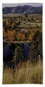 Oxbow Bend In The Wenatchee River Beach Towel
