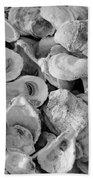 Oyster Shells Beach Towel