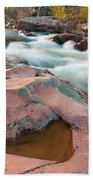 Ozark Stream Beach Towel