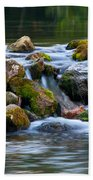 Ozark Waterfall Beach Towel