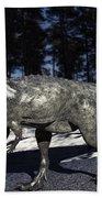 Pachycephalosaurus Beach Towel