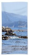 Pacific Blues Beach Towel
