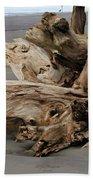Pacific Driftwood II Beach Sheet