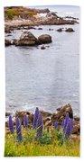 Pacific Grove Coastline Beach Towel