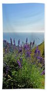 Pacific Lupines Beach Towel