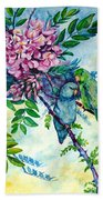 Pacific Parrotlets Beach Towel