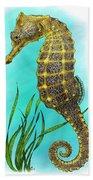 Pacific Seahorse Beach Towel