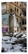 Packard Plant Detroit Michigan - 11 Beach Towel