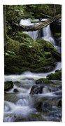 Packer Falls And Creek Beach Towel