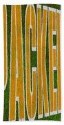 Packers Beach Towel