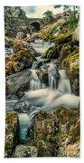 Packhorse Waterfall Beach Towel