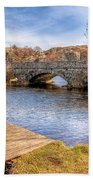 Padarn Bridge Beach Towel