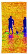 Paddle Board Paradise Beach Towel