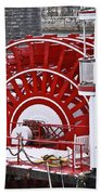 Paddle Wheel Beach Towel by Tom and Pat Cory