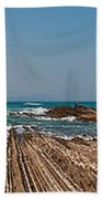 Pages Into The Sea No1 Beach Towel