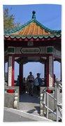 Pagoda Pavilion Beach Towel