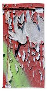 Paint Abstract Beach Towel