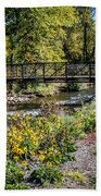 Paint Creek Bridge Beach Towel
