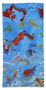 Paint Number 47 Beach Towel by James W Johnson