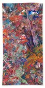 Paint Number 50 Beach Towel by James W Johnson