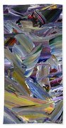 Paint Number 57 Beach Towel by James W Johnson